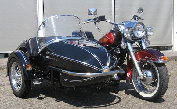 Amigos del sidecar - Sidecar de 1 Plaza para una moto Custom - El